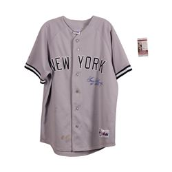 New York Yankees Goose Goassage Autographed Jersey