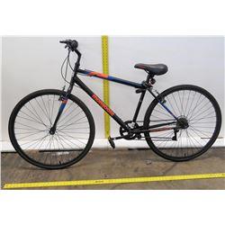 Mongoose 700C Hotshot Torque Driven System Black Touring Bike