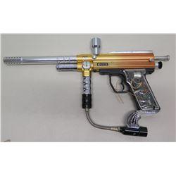 E-Rex Electronic Silver 1500 PSI Paintball Gun