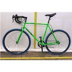 Takara 700C Kabuto Single Speed Green All Terrain Road Bike