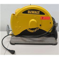 """DeWalt D28715 14"""" Type 2 50/60 HZ Chop Saw"""