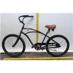 Electra Matte Black Single Speed Cruiser Bike w/ Coaster Brakes