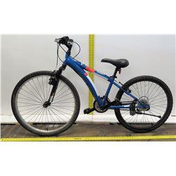 "Diamondback Cobra 24"" Blue Complete Youth Bike"