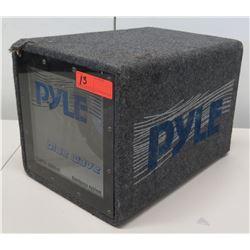 Pyle PLQB10 500 Watt Blue Wave Bandpass System Subwoofer