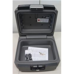 Sentry Safe Fire Water Protection Safe Locking Box w/ Keys