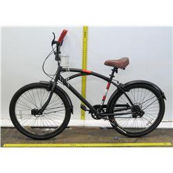 Kent Matte Black Boy's Mountain Bike w/ Rear Fender