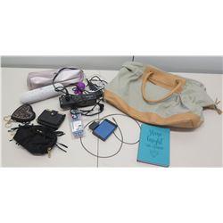 Multiple Misc Bags, Wallets, Sentry Bluetooth Speaker, etc