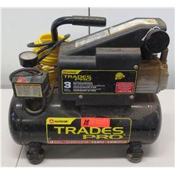 Alltrade Trades Pro 115V 125 PSI 3 Gallon Air Compressor w/ Air Hose