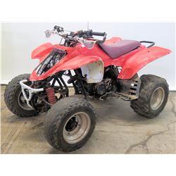 Red Off-Road, 4-Wheel ATV Quad