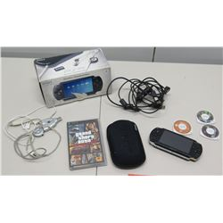 Sony PSP Value Pack Portable PlayStation Video Game w/ Games, etc
