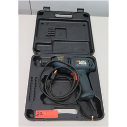 Black & Decker DR402 Electric Drill Driver 4.8 A 0-1350 RPM in Hard Case