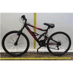 Hyper Shocker 2G HPR Black 18 Speed Mountain Bike