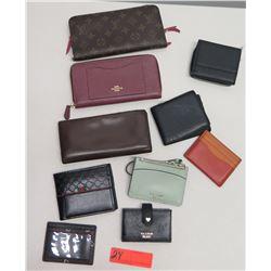 Coach Card Holder, Coach Zippered Clutch & Misc. Monogrammed Wallets & Bags