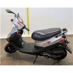 Honda XDD Gray & Black Moped (Serial RFGBS1AJ3FSFT5479) 2955 Miles