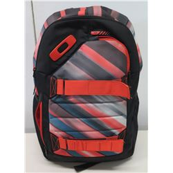 Oakley Orange Black Designer Backpack