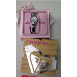"Roxy Diamond Collection ""Best Friend"" Wristwatch w/ Case, $75 Retail Tag"