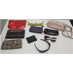 Qty 8 Wallets, Handbags by Coach, MK, etc, Oakley & Zigi Marias Sunglasses