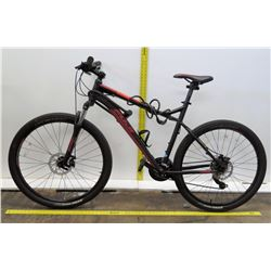 Fuji Nevada One.9 Black Full Suspension Mountain Bike