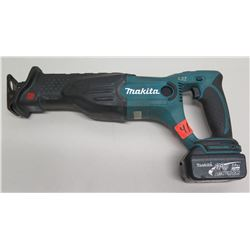 Makita BJR182 18V Lithium Ion Battery Cordless Reciprocating Saw