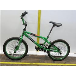 "Genesis Krome Green 20"" Boys BMX Freestyle Trick Bike"