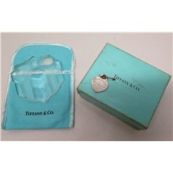 Tiffany & Co Heart w/ Key Pendant in Original Case