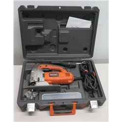 Ridgid R3121 120V Jig Saw w/ Cords & Case