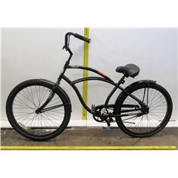 "Hyper 26"" Black Boy's Single Speed Cruiser Bike w/ Coaster Brakes"