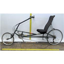 Rans Stratus Full Seat Black Recumbent Bike