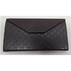 Gucci Black Monogram Wallet/Case