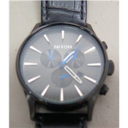 Nixon Right on Time Sentry Chrono Stainless Steel Men's Black Watch