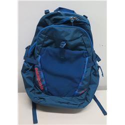 Patagonia Blue Backpack w/ Mesh Pockets