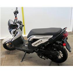 2015 White TaoTao SOCC Zummer Moped (Serial L9NTEA7F1001363) 2664 Miles