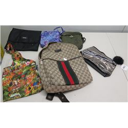Monogrammed Backpack, Bags & Misc Purses