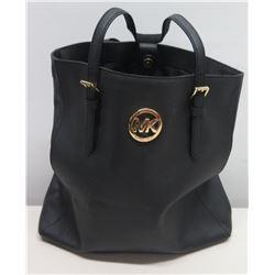 Michael Kors Black Handbag Tote w/ Adjustable Straps