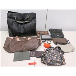 Monogram Handbags - Michael Kors Bag, Tommy Hilfiger Bag, etc