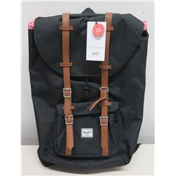 Herschel Little America Black Laptop Backpack