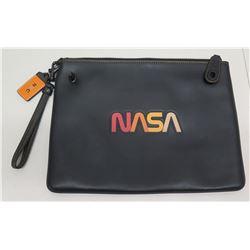 "Coach NASA New York Leather Bag 12"" x 9.5"""