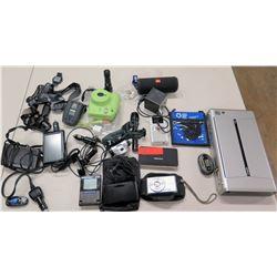 JBL Bluetooth Speaker, Sony Camera, Garmin GPS Navigator, Watch, etc