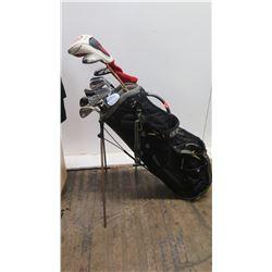 Sasquatch Golf Bag w/ Launcher Driver, Mizuno Clubs
