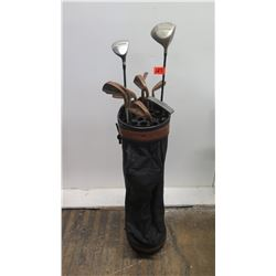 Qty 7 Dunlof Golf Irons, Adams, TI Power