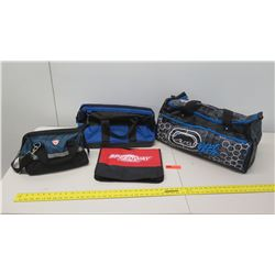 Qty 4 Misc. Sized Duffle Bags, Ecko Large Bag