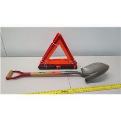 Ace Hardware Shovel, Qty 3 Road Reflectors