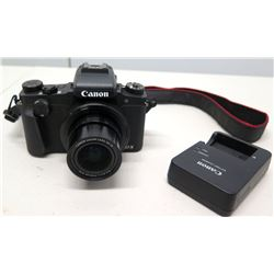 Canon Powershot G1X Compact Digital Camera, 3x15 Zoom Lens & Battery Charger (non-HPD)