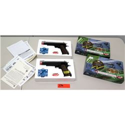 Qty 2 Airsoft UHC 1:1 Scale High Grade Gun, Air Pistol Systems, (must be 18 yrs of age) (non-HPD)