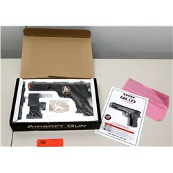 Airsoft Full Semi-Auto Gun Pistol CM.123, Unused (must be 18 yrs of age) (non-HPD)