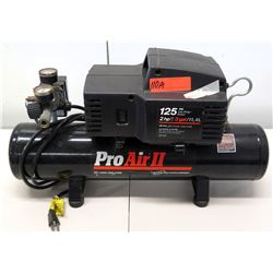 Pro Air II 125 PSI, 2 HP, 3 Gallon Oil Free Air Compressor