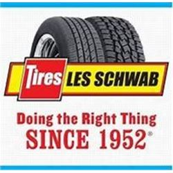 Les Schwab Gift Certificate
