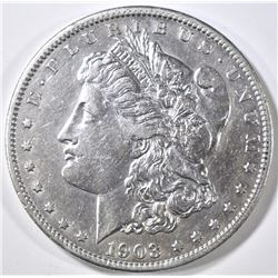 1903-S MORGAN DOLLAR, AU