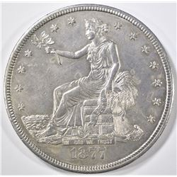 1877-CC TRADE DOLLAR  CH BU