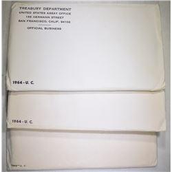 1963 & 2-64 U.S. MINT UNC SETS